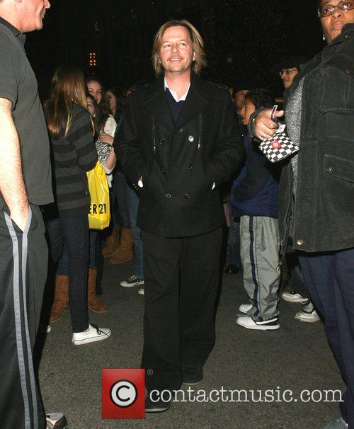 David Spade does some holiday shopping and takes...