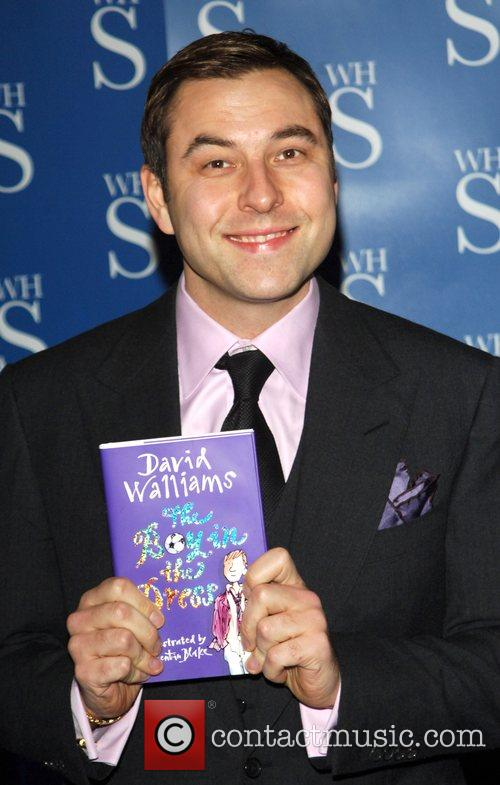 David Walliams The actor-turned-writer signs copies of his...