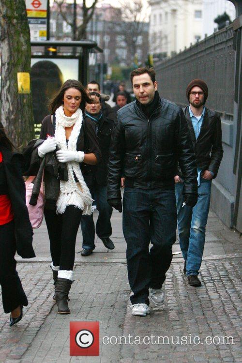 David Walliams seen out with a female companion...