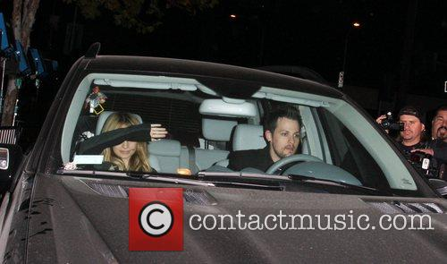 Nicole Richie and Joel Madden at the DCMA...