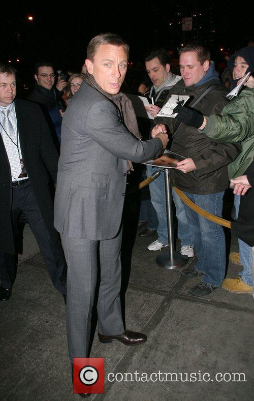 Attends the New York screening of 'Defiance'