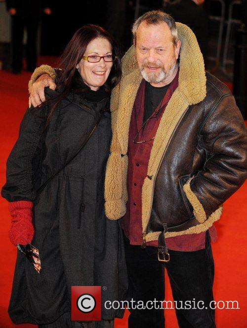 Terry Gilliam  UK premiere of 'Defiance' -...