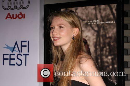 Mia Wasikowska AFI Film Festival 2008 ' Premiere...