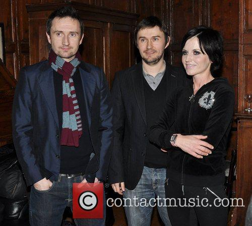 Dolores O'Riordan is presented with an honorary membership...