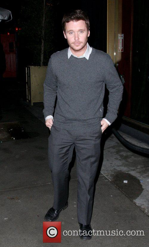 Kevin Connolly leaving Deluxe nightclub Los Angeles, California