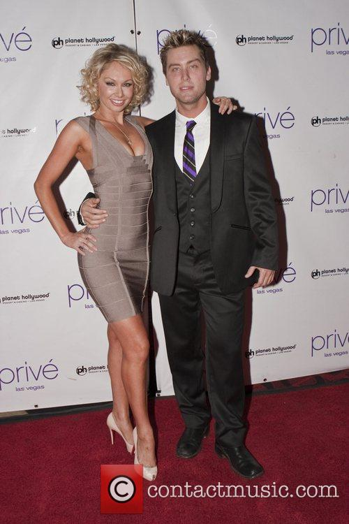 Kym Johnson and Lance Bass 4