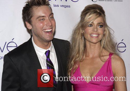 Denise Richards and Lance Bass host New Year`s...