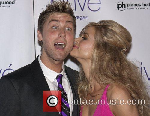 Lance Bass and Denise Richards 4