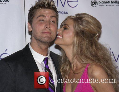 Lance Bass and Denise Richards 2