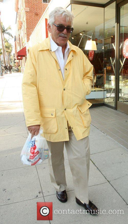 Dennis Farina  spotted leaving the Rite Aid...