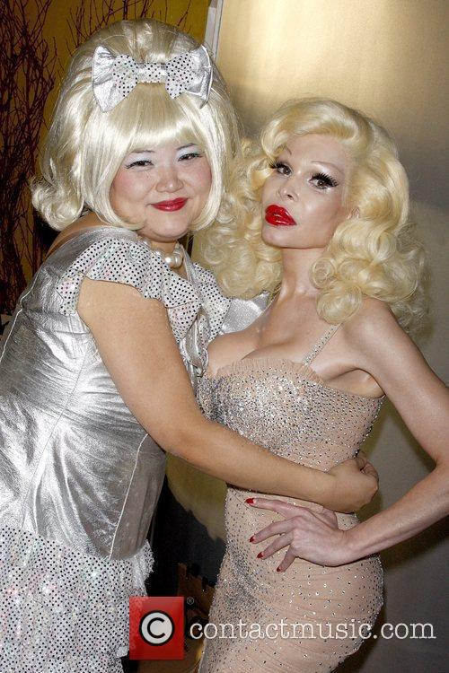 June and Amanda Lepore 1