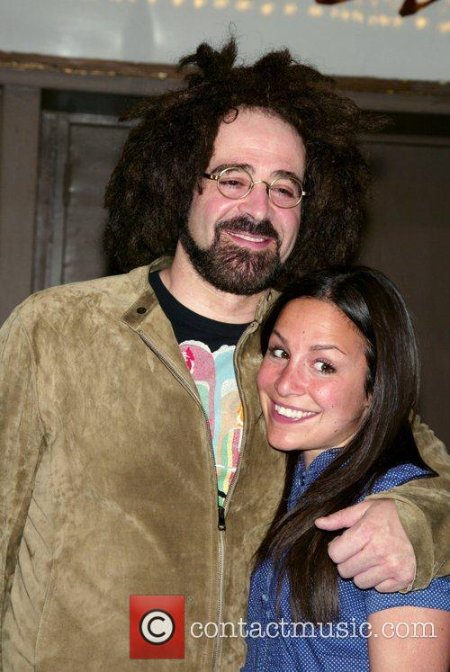 Adam Duritz and Guest at the opening night...