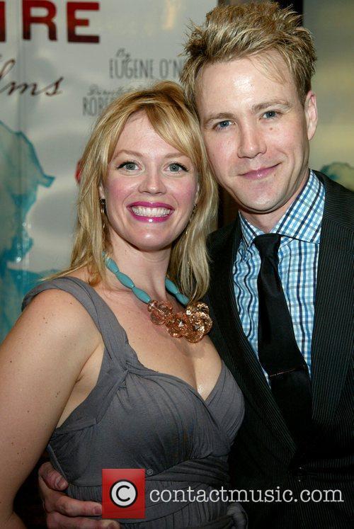 Elizabeth Stanley and Christopher J. Hanke at the...