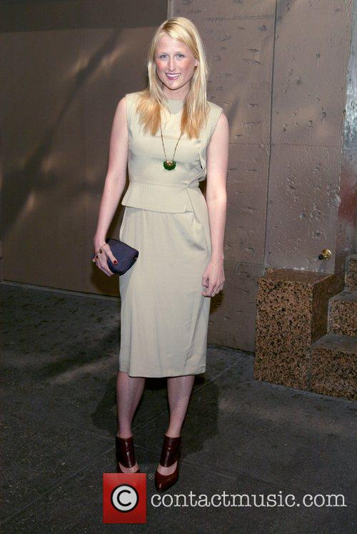 Mamie Gummer at the opening night of the...