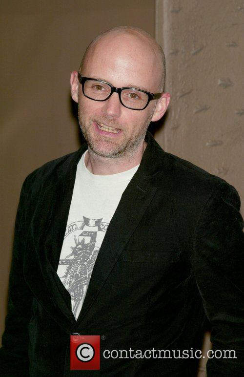 Moby at the opening night of the Broadway...
