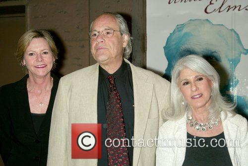 Robert Klein and Jamie deRoy at the opening...
