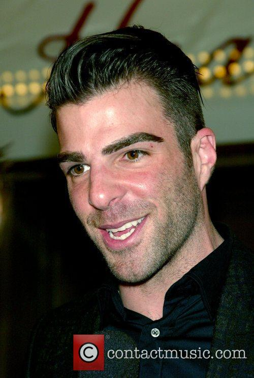 Zachary Quinto at the opening night of the...