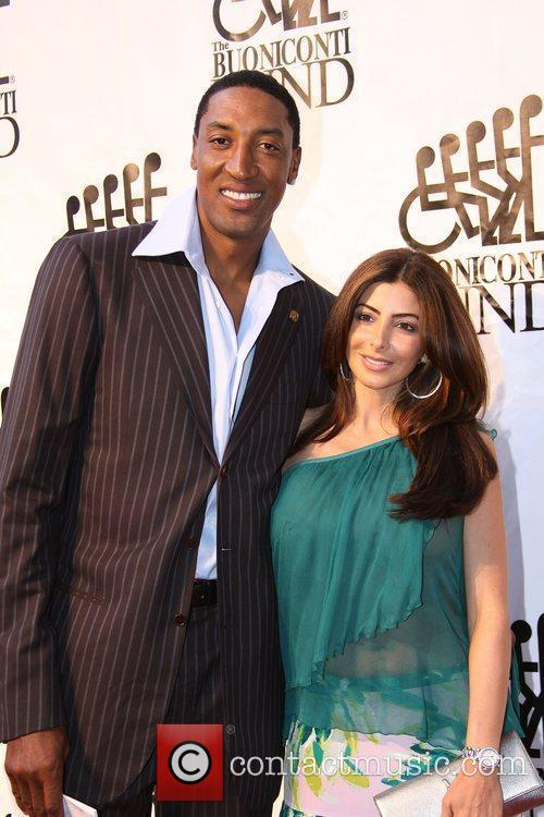 Scottie Pippen Destination Fashion 2009 - arrivals Bal...