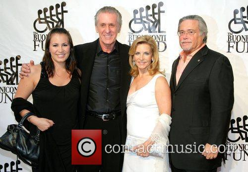 Pat Riley, Micky Arison and guests Destination Fashion...