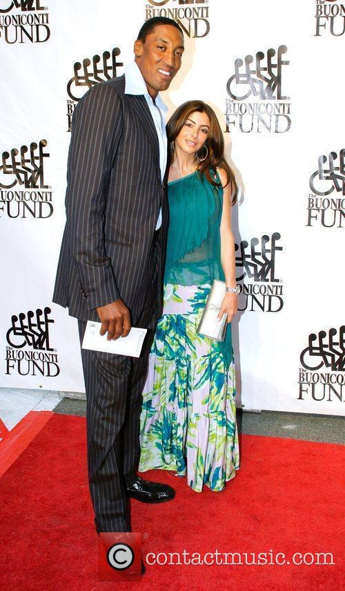 Scottie Pippen and guest Destination Fashion 2009 -...