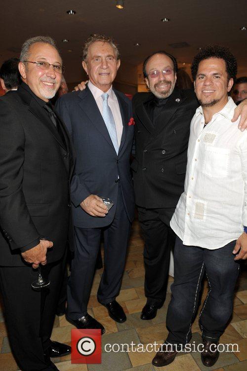 Emilio Estefan, Donie Sulfer, Bernie Yuman and Romero...