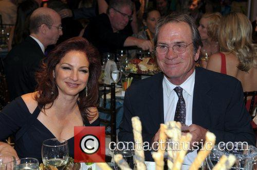 Gloria Estefan and Tommy Lee Jones Destination Fashion...