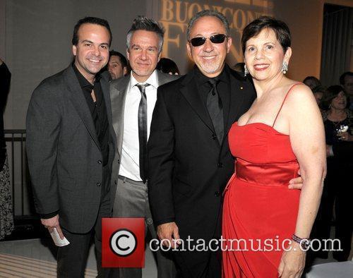 Jorge Plasencia, Frank Amadeo, Emilio Estefan and Adrienne...