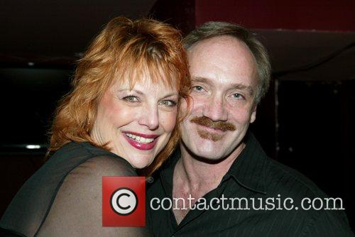 Devlin and Rick Jensen at opening night of...