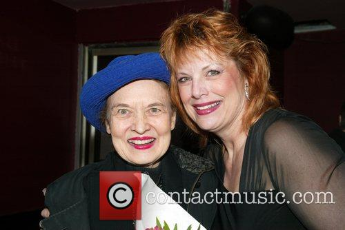 Julie Wilson and Devlin at opening night of...
