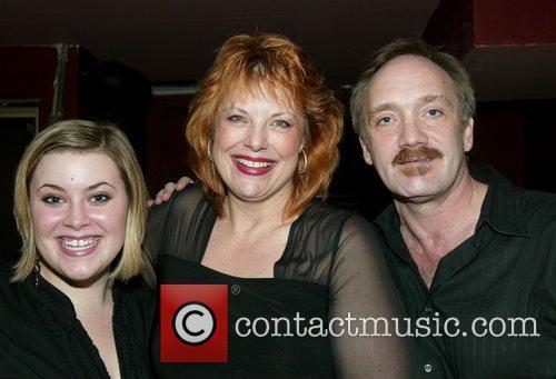 Tina Jensen, Devlin and Rick Jensen at opening...