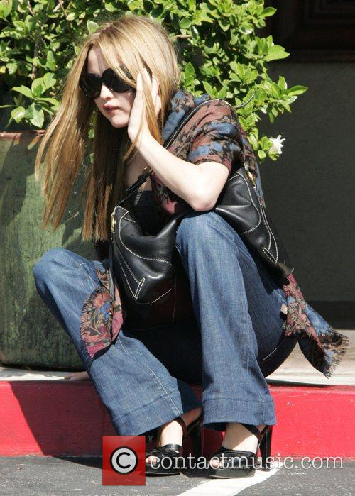 Model, Devon Aoki at the Dragon Book Store...