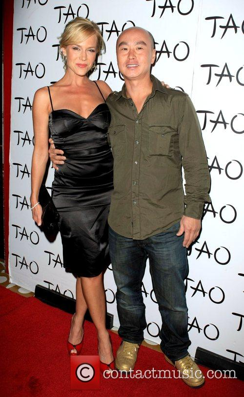 Julie Benz and C S Lee attends TAO...