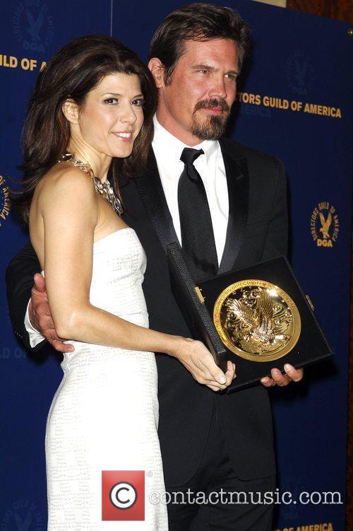 Marisa Tomai and Josh Brolin The 61st Annual...