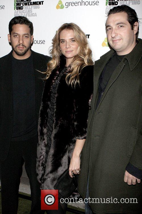 David Blaine, Nicola Breytenbach and Ben Steiner 2