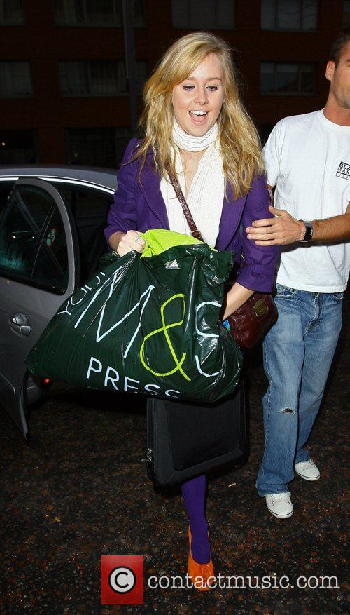 Diana Vickers arriving at the GMTV studios in...