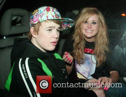 Eoghan Quigg and Diana Vickers seen holding hands...