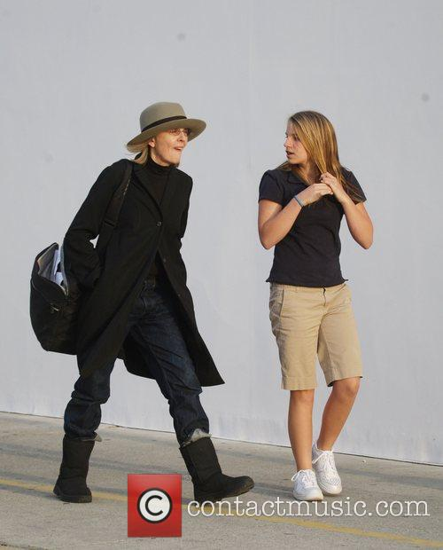 Diane Keaton and Her Daughter Dexter Keaton Shopping In Hollywood 1