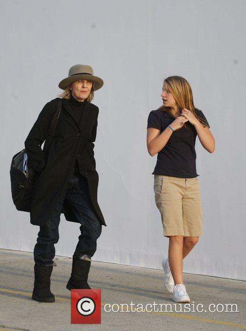 Diane Keaton and Her Daughter Dexter Keaton Shopping In Hollywood 3