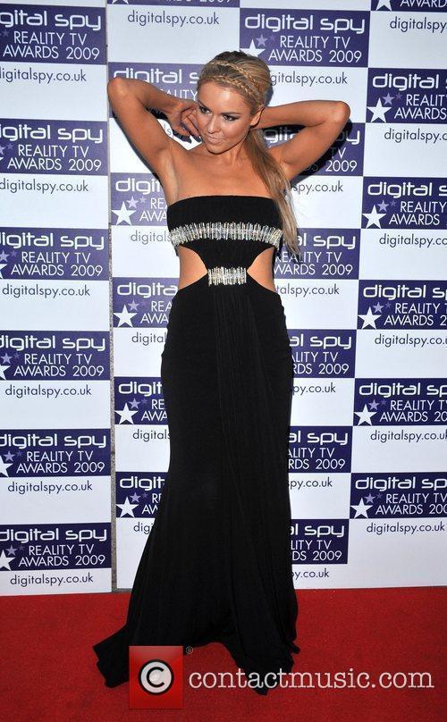 Zoe Salmon Digital Spy Reality TV Awards 2009...