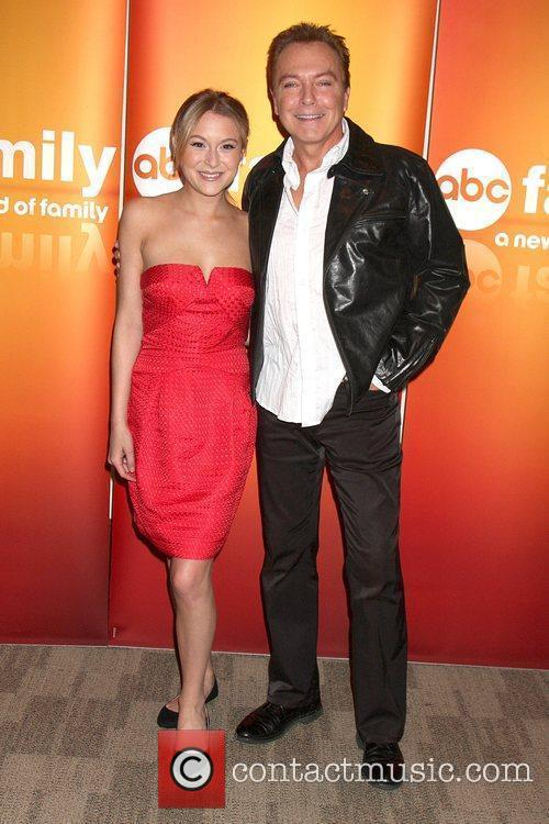 Alexa Vega and David Cassidy Disney ABC Television...