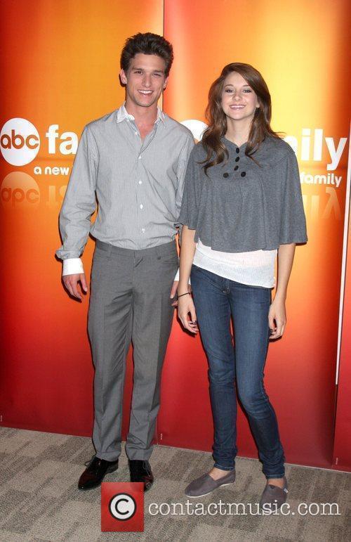 Daren Kagasoff and Shailene Woodley Disney ABC Television...
