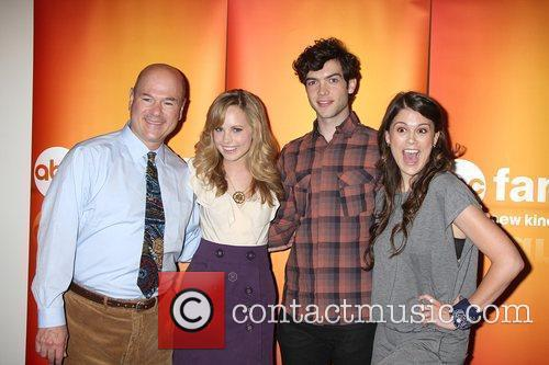 Larry Miller, Meaghan Martin, Ethan Peck, and Lindsey...