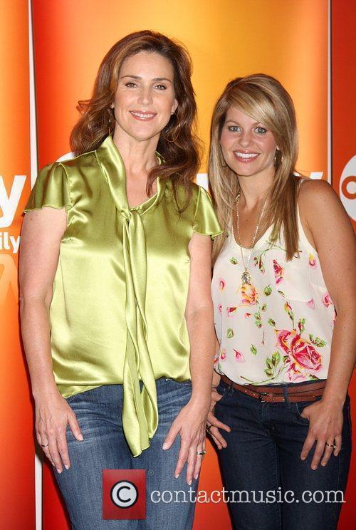 Peri Gilpin and Candace Cameron Bure Disney ABC...