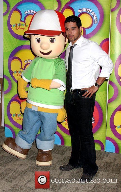 Wilmer Valderamma and Handy Manny Disney ABC Television...