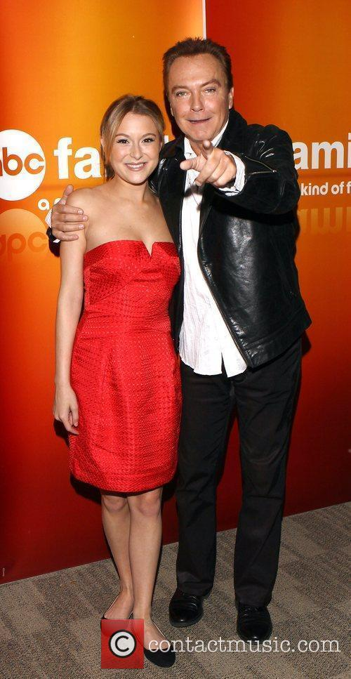 Alexa Vega, David Cassidy Disney ABC Television Summer...