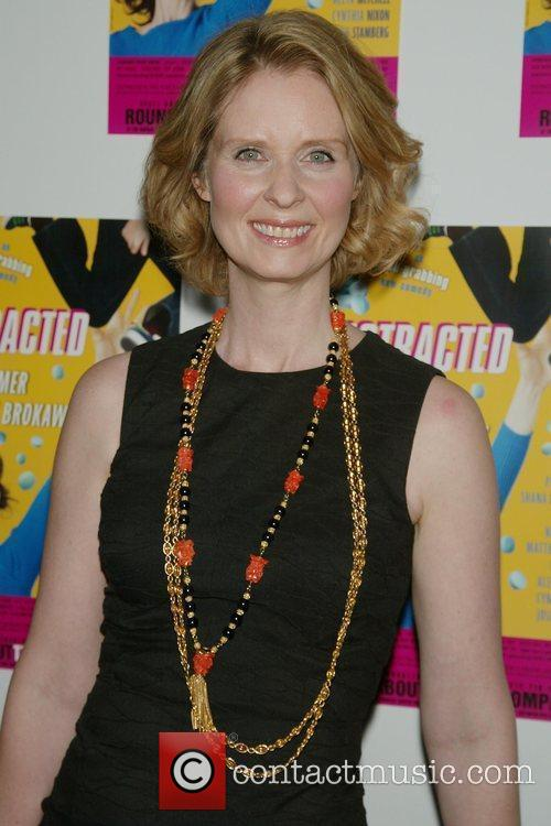 Cynthia Nixon Opening night post-performance photocall for the...