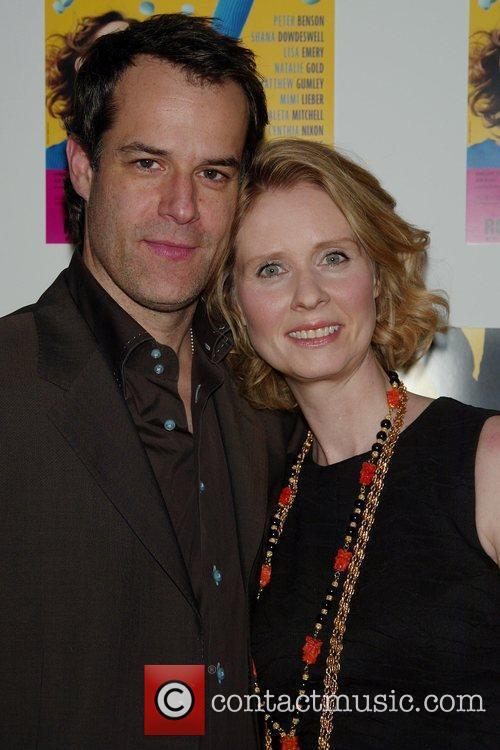 Josh Stamberg, Cynthia Nixon Opening night post-performance photocall...