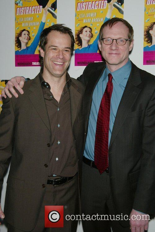 Josh Stamberg, Mark Brokaw Opening night post-performance photocall...