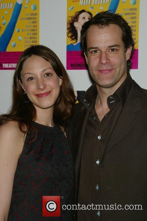 Natalie Gold, Josh Stamberg Opening night post-performance photocall...