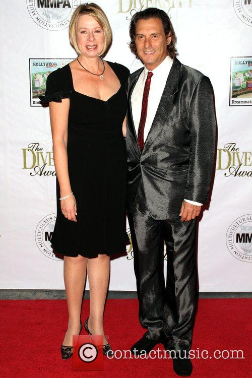 Diane English and Guest 16th Annual Diversity Awards...